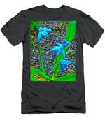 Scilla In New Maiden Cemetery In Moscow-russia  Men's T-Shirt (Athletic Fit)