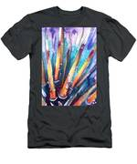 Spine Of Urchin Men's T-Shirt (Athletic Fit) by Ashley Kujan