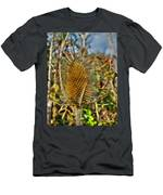 Thistle On Sunny Autumn Day Men's T-Shirt (Athletic Fit)
