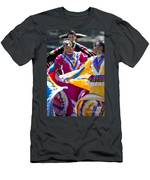 Mexican Folk Dancers Men's T-Shirt (Athletic Fit)
