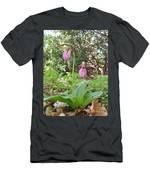#800 D405 Lady Slipper Men's T-Shirt (Athletic Fit)