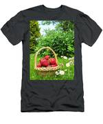 A Basket Of Strawberries Men's T-Shirt (Athletic Fit)