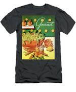A Gourmet Cover Of Dandelion Salad Men's T-Shirt (Athletic Fit)