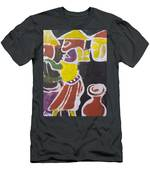 A Lady Is Clean The Pot To Pour Water Inside It Men's T-Shirt (Athletic Fit)