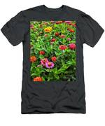 A Pair Of Yellow Zinnias 04 Men's T-Shirt (Athletic Fit)