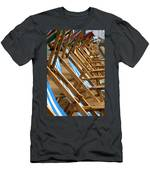 All Lined Up Men's T-Shirt (Athletic Fit)