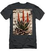 Aloe Vera At The Arboretum Men's T-Shirt (Athletic Fit)
