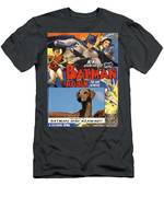 Azawakh Art - Batman Movie Poster Men's T-Shirt (Athletic Fit)