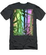 Bamboo Study 8 Men's T-Shirt (Athletic Fit)