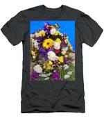 Beautiful Bouquet Of Flowers Men's T-Shirt (Athletic Fit)