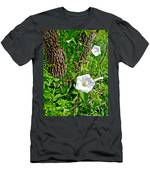 Bindweed In Pipestone National Monument-minnesota Men's T-Shirt (Athletic Fit)