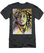 Bob Marley 01 Men's T-Shirt (Athletic Fit)