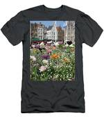 Brugge In Spring Men's T-Shirt (Athletic Fit)
