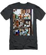 Chemistry - Bottles Of Chemicals Men's T-Shirt (Athletic Fit)