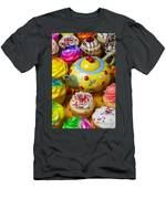 Cherry Teapot And Cupcakes Men's T-Shirt (Athletic Fit)
