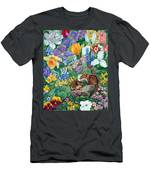 Chipmunk Garden Men's T-Shirt (Athletic Fit)