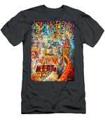 Color Castle Men's T-Shirt (Athletic Fit)