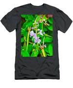 Common Speedwell On Skyline Trail In Cape Breton Highlands National Park-nova Scotia  Men's T-Shirt (Athletic Fit)