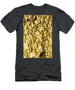 Crumpled Gold Foil Men's T-Shirt (Athletic Fit)