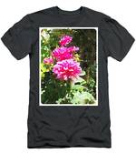 Dahlias Men's T-Shirt (Athletic Fit)