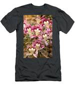 Desert Calico Wildflowers Men's T-Shirt (Athletic Fit)