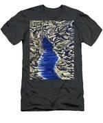 Down Flow Men's T-Shirt (Athletic Fit)