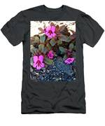 Dwarf Purple Monkeyflower In Lava Beds Nmon-ca Men's T-Shirt (Athletic Fit)