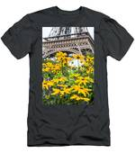 Eiffel Flower Men's T-Shirt (Athletic Fit)