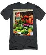 Farmer's Market Men's T-Shirt (Athletic Fit)