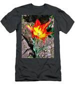Fiery Beauty Men's T-Shirt (Athletic Fit)