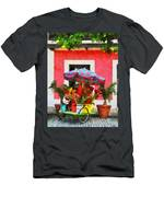 Flower Cart San Juan Puerto Rico Men's T-Shirt (Athletic Fit)