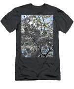 Flowering Cherry - White Men's T-Shirt (Athletic Fit)