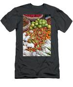 Fresh Chili Peppers Men's T-Shirt (Athletic Fit)