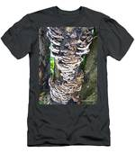 Fungus Invasion Men's T-Shirt (Athletic Fit)