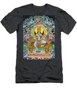 Goddess Of Asia Men's T-Shirt (Athletic Fit)