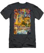Golden Castle Men's T-Shirt (Athletic Fit)