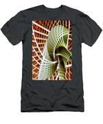 Green Weave Men's T-Shirt (Athletic Fit)