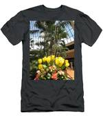 Interior Decorations Butterfly Gardens Vegas Golden Yellow Tulip Flowers Men's T-Shirt (Athletic Fit)