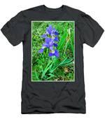 Iris Swirl Men's T-Shirt (Athletic Fit)