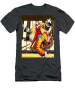 Kabuki Chopsticks 3 Men's T-Shirt (Athletic Fit)