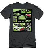 Lambo - Murci-me - Poster Men's T-Shirt (Athletic Fit)