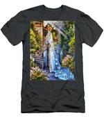 Leaving Wonderland Men's T-Shirt (Athletic Fit)