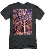Lightening Struck Tree Men's T-Shirt (Athletic Fit)