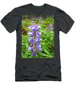 Lupine Along Trail To Rancheria Falls In Yk-canada   Men's T-Shirt (Athletic Fit)