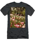 May Tulips Men's T-Shirt (Athletic Fit)