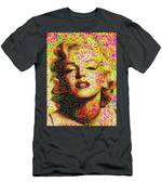 Marilyn - Colored Diamonds Men's T-Shirt (Athletic Fit)