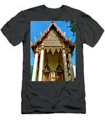One Of Many Pagodas In Bangkok-thailand Men's T-Shirt (Athletic Fit)