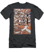 Orange Roofs Men's T-Shirt (Athletic Fit)