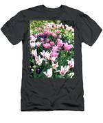 Painted Spring Exhibit Men's T-Shirt (Athletic Fit)