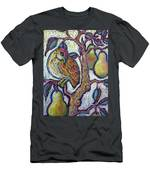 Partridge In A Pear Tree 1 Men's T-Shirt (Athletic Fit)